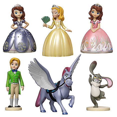 Sofia The First Figurine Sets