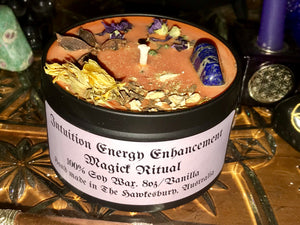 Intuition Energy Enhancement Magick Ritual SAVE $8