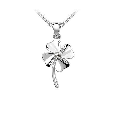 Platinum Plated Cailin Pendant Necklace