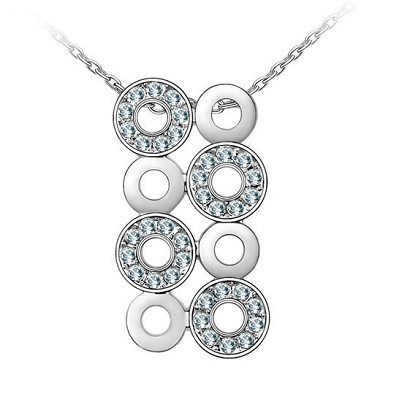 Platinum Plated Cassie Pendant Necklace