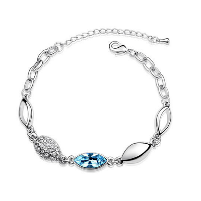 Platinum Plated Ellegra Bracelet