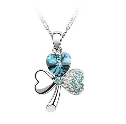 Platinum Plated Inna Pendant Necklace