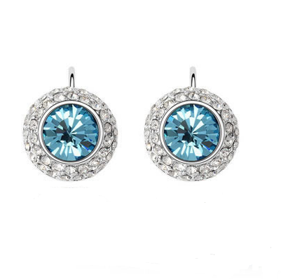 Platinum Plated Libby Earrings