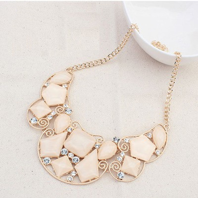 X FACTOR STATEMENT NECKLACE