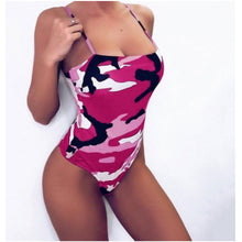 Load image into Gallery viewer, CAMOUFLAGE CLAUDINA SWIMSUIT