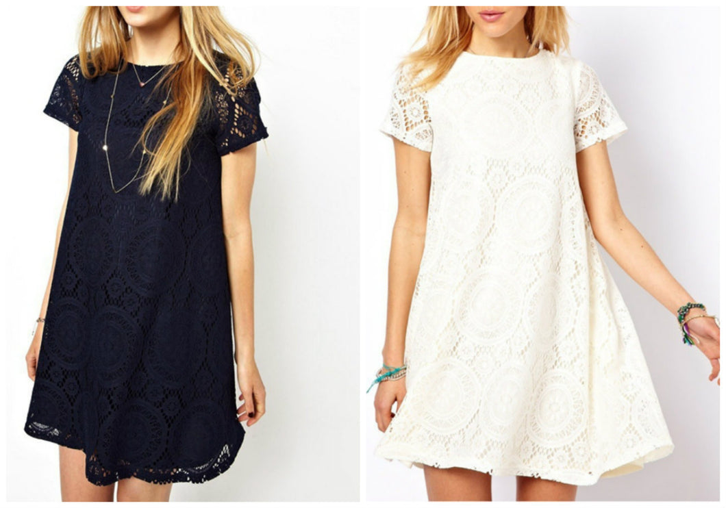 LALA LACE DRESS