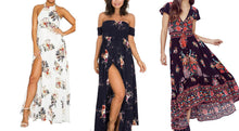 Load image into Gallery viewer, 3 STYLES FLORAL MAXI DRESS