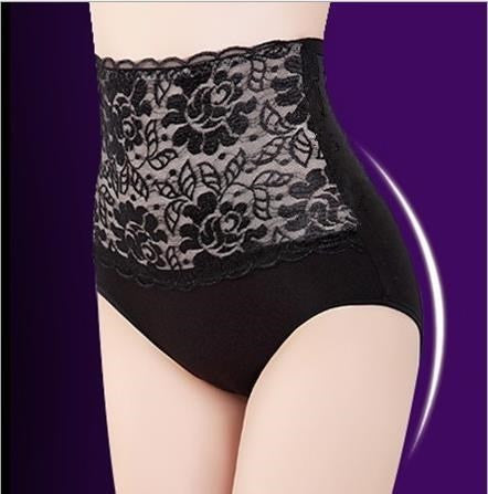3-Pack High Waisted Lace Tummy Control panties