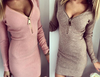 STRETCH ZIP UP 24 HOUR DRESS