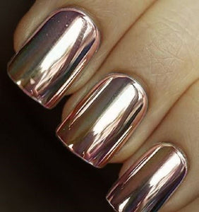 ROSE GOLD MIRROR NAIL KIT