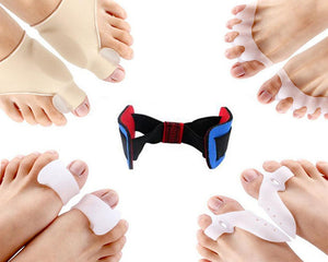 9 PC TOE STRAIGHTENER- BUNION CORRECTOR