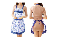 Load image into Gallery viewer, FLORAL COOKING APRON