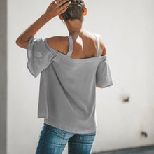 Load image into Gallery viewer, STRAPPY COLD SHOULDER TOP