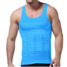 Load image into Gallery viewer, MEN'S SLIMMING VEST- 5 COLOURS