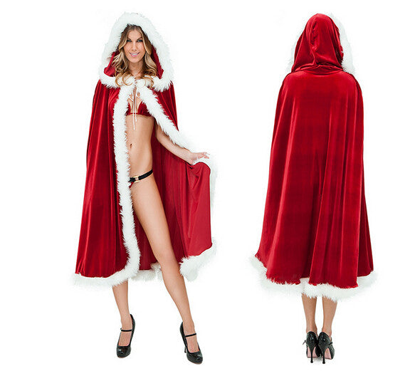 MRS  SANTA CLAUS CAPE