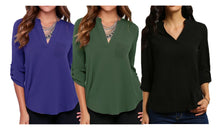 Load image into Gallery viewer, V - NECK BLOUSE