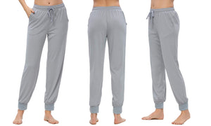 DRAWSTRING LOUNGE TROUSERS