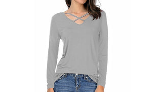 Ella V-Neck Top