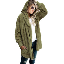 Load image into Gallery viewer, TEDDY HOODED JACKET