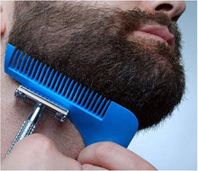 Load image into Gallery viewer, MEN BEARD CAPE AND COMB