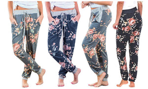 CASUAL FLORAL JOGGER