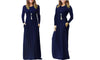 EMPIRE LONG SLEEVE MAXI DRESS