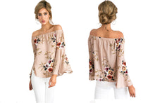 Load image into Gallery viewer, OFF SHOULDER BARDOT TOP