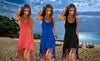 TASSEL BEACH DRESS-THREE COLOURS.