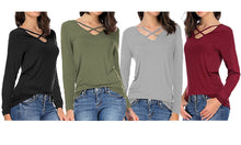 Load image into Gallery viewer, Ella V-Neck Top