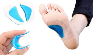 2pc FLAT FOOT GEL ARCH SUPPORT