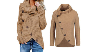 BUTTON FRONT OVERLAP JUMPER