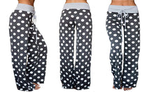 Load image into Gallery viewer, POLKA DOT LOUNGE TROUSERS
