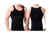 BLACK AND WHITE SLIMMING MEN'S VEST