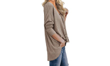 Load image into Gallery viewer, KNOT FRONT CARDI - 4 colours