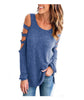 COLD & CUT OUT SHOULDER TOP
