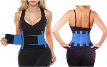 Load image into Gallery viewer, FITNESS WAIST TRAINING BELT