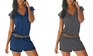 1 OR 2 V-NECK ROMPER