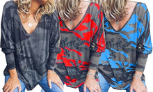 Load image into Gallery viewer, LONG SLEEVE CAMO TOP - 3 COLOURS