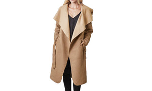 HOODED COAT -UP TO SIZE 46
