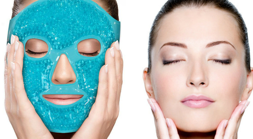 NATURAL TREATMENT  HOT/COLD FACE MASK