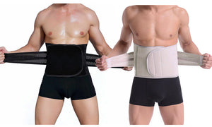 MEN'S DOUBLE COMPRESSION WAIST TRAINER