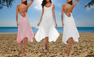 FANTASY BEACH DRESS- TWO COLOURS.