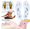 Unisex Magnetic Reflexology Therapy Insoles