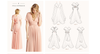 BRIDESMAID- EVENING PARTY MULTIWRAP DRESS