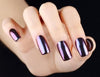 MAGIC MIRROR NAIL POWDER - PURPLE OR RED