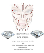 Load image into Gallery viewer, Jade & Rose Quartz Face Roller