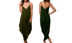 HAREM JUMPSUIT - 4 colours