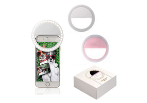 SELFIE LED LIGHT WITH USB