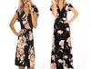 EXOTIC SHORT- MAXI GARDENIA DRESS
