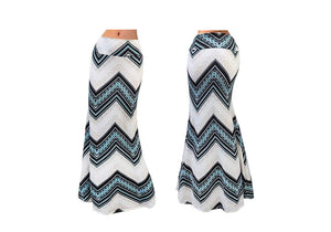 STRETCH MAXI SKIRT